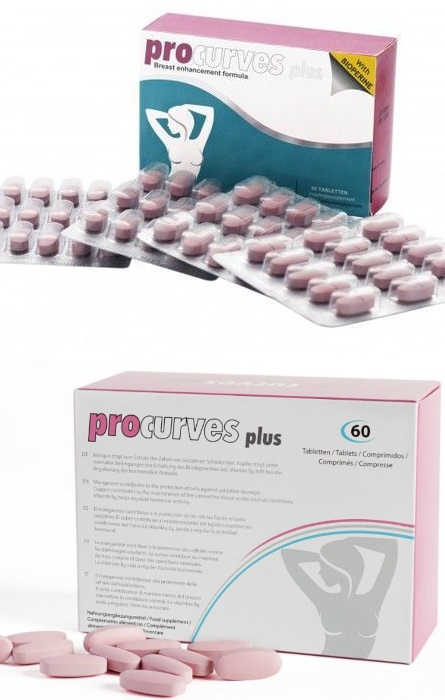 Procurves Aumento dos Seios 60 Capsulas  RF45321