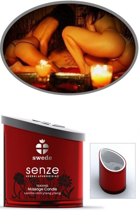 Swede Senze Massage Candle Teasing Rf22247
