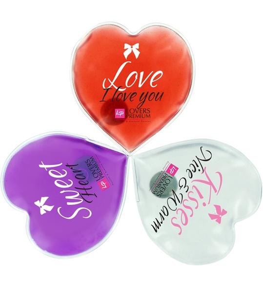 Lovers Premium Hot Massage Hearts (3 pcs)