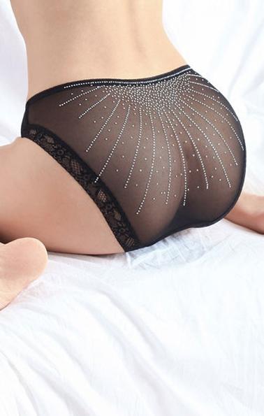 Pleasures Rhinestone Panties