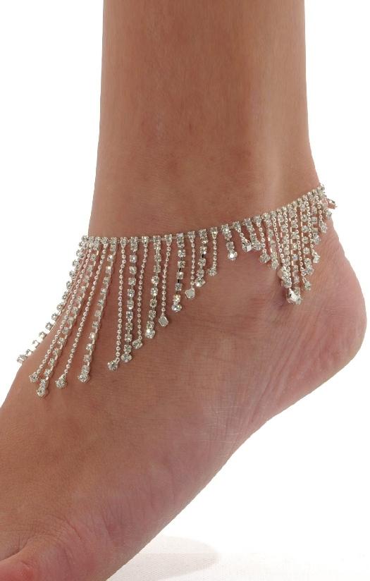 Rhinestone Anklet