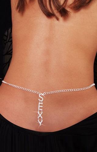 Sexy Rhinestone Belly Chain