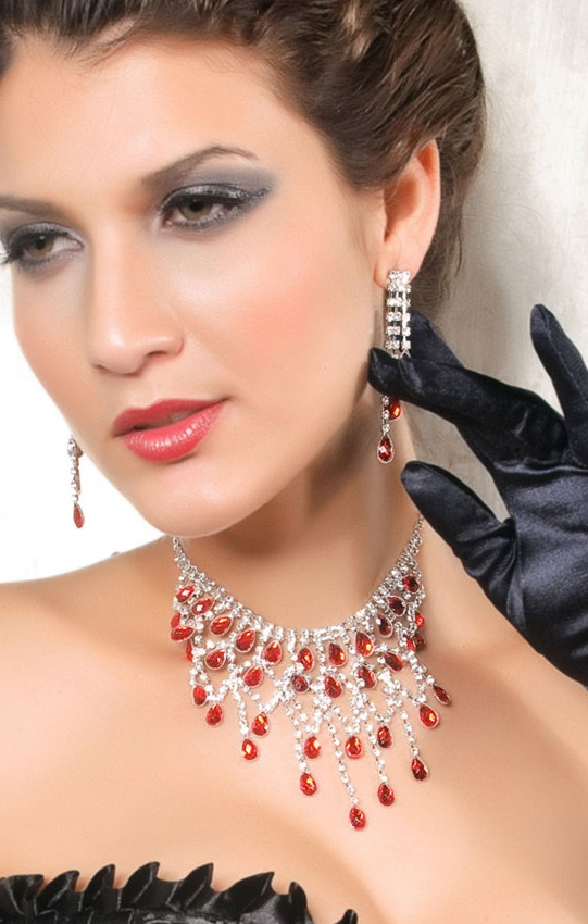 Necklace & Earrings Rf80801