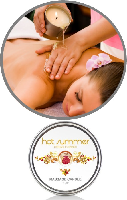 Vela Óleo de Massagem Hot Summer RF45238