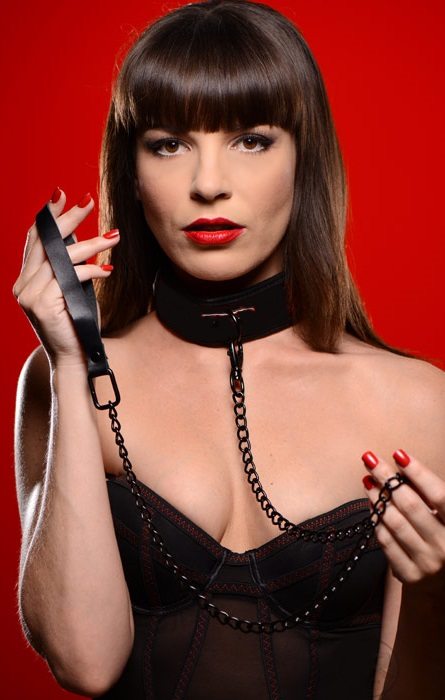 Leather Collar & Leash Set
