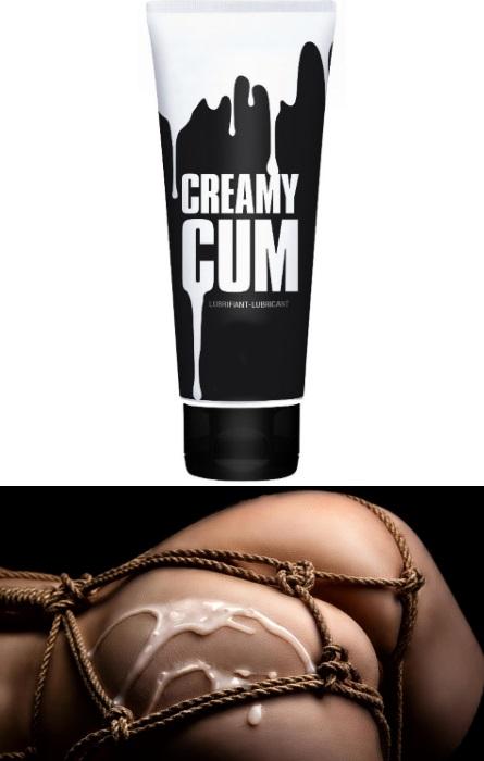 CREAMY CUM LUBRICANT