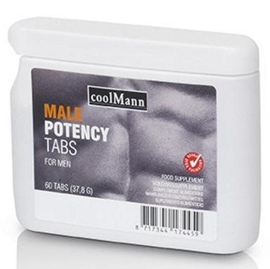 CoolMann Male Potency Tabs Flatpack