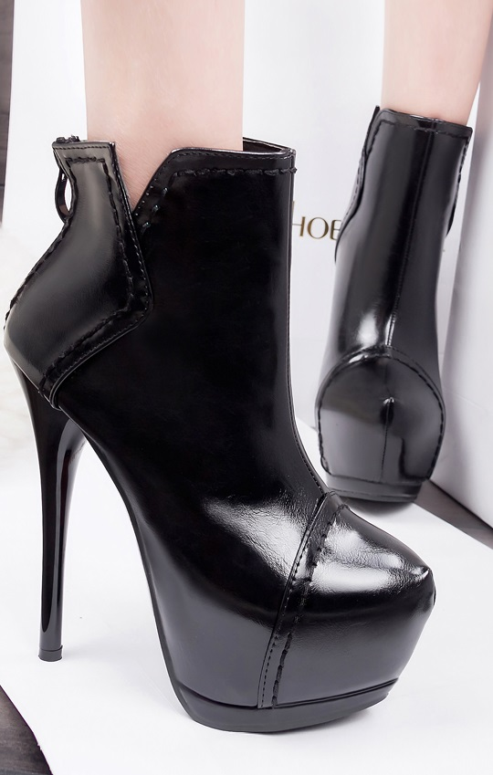 Botins Pleasures Boots Black