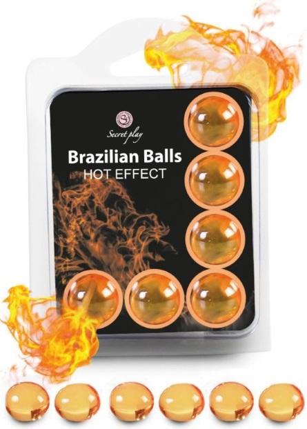 Brazilian Balls Lubrificante 6 Hot Effect RF45092