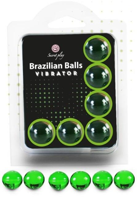 Brazilian Balls Lubrificante 6 Vibrador RF45094