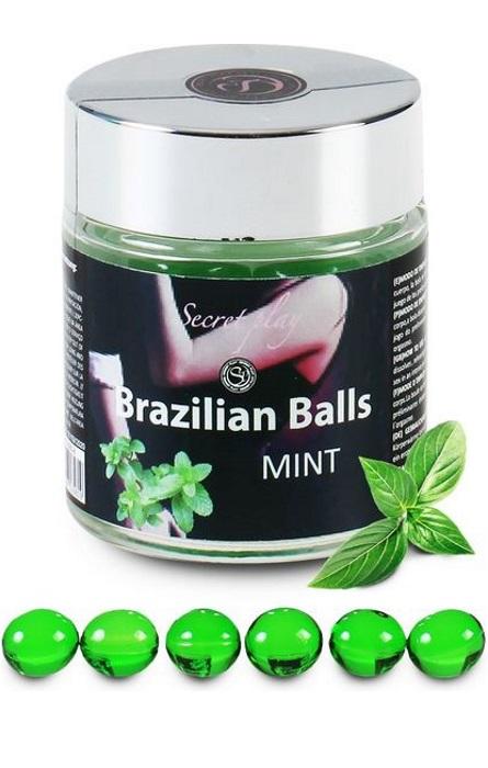 Brazilian Balls Lubrificante 6 Menta RF45079