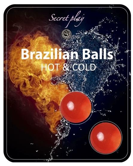 Brazilian Balls Lubrificante 2 efeito Frio e Calor RF45083
