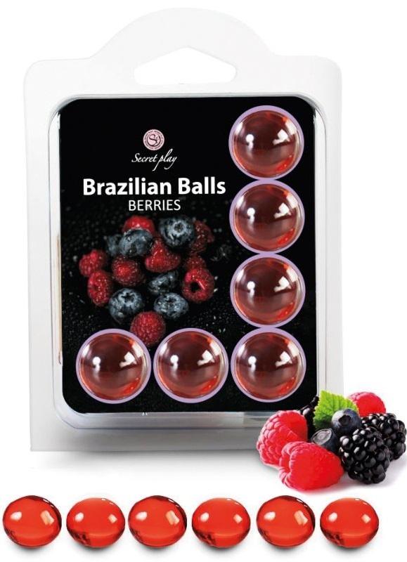 Brazilian Balls Lubrificante 6 Berries RF45088