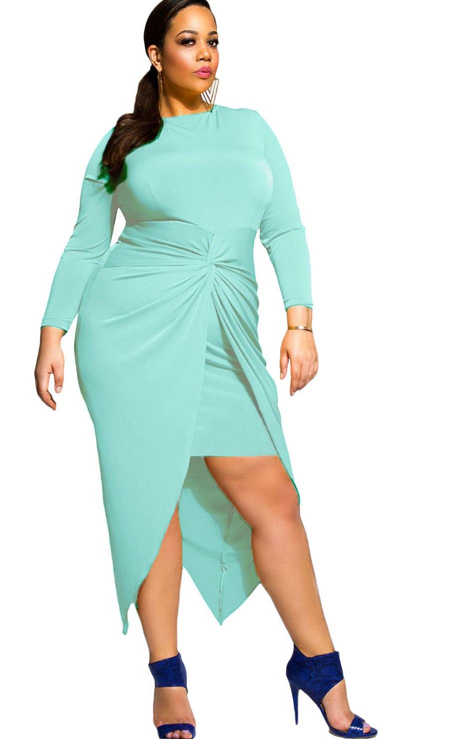 Pleasures Dress Aqua XXL