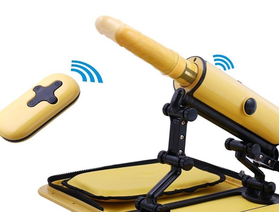 Handbag Remote Sex Machine Yellow RF02839