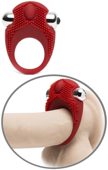 Anel de Vibração Peniano com Estimulador de Clitoris