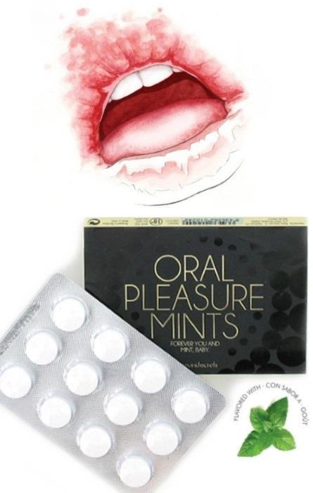 Refrescante Prazer Sexo Oral Mentol 12 unidades RF45459