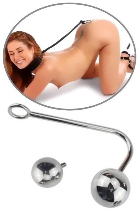 Bloqueador Intruso com Bola Vaginal e Anal RF03375