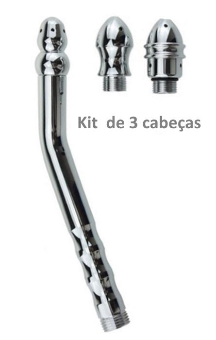 Sistema de Limpeza Anal para Adaptar no Choveiro 3 Cabeças RF03311
