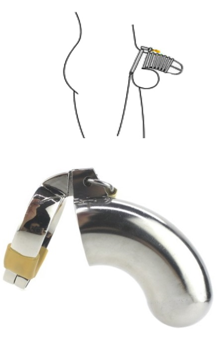 Chastity Penis Cage S RF01697