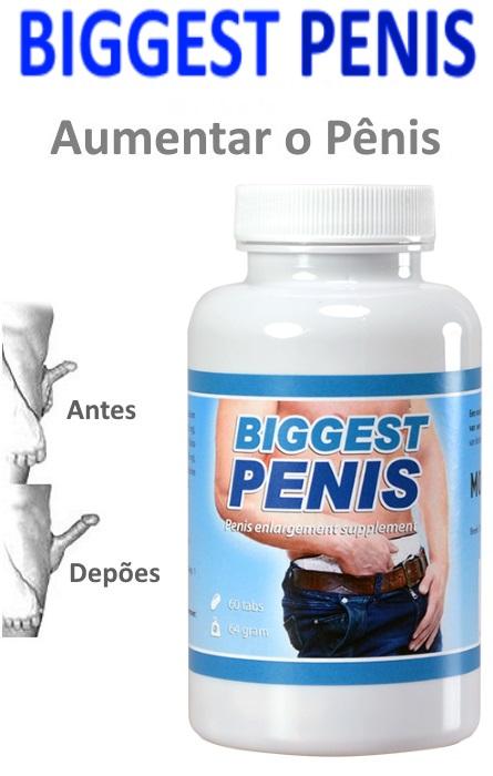 Biggest Penis Aumento do Pênis 60 Tabs RF329391