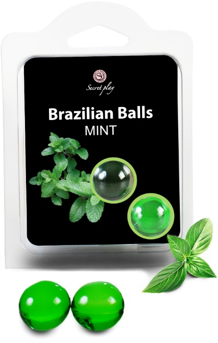 Brazilian Balls Lubrificante 2 Mint RF45005