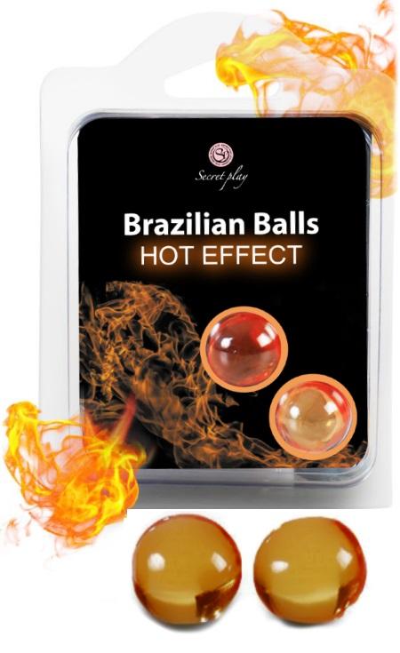 Brazilian Balls Lubrificante 2 Hot Effect RF45010