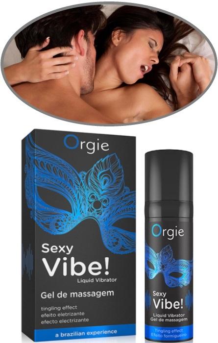 Orgie Sexy Vibe! Vibrador Liquido RF45503