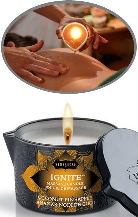 Kama Sutra Vela de Óleo Massagem RF45046