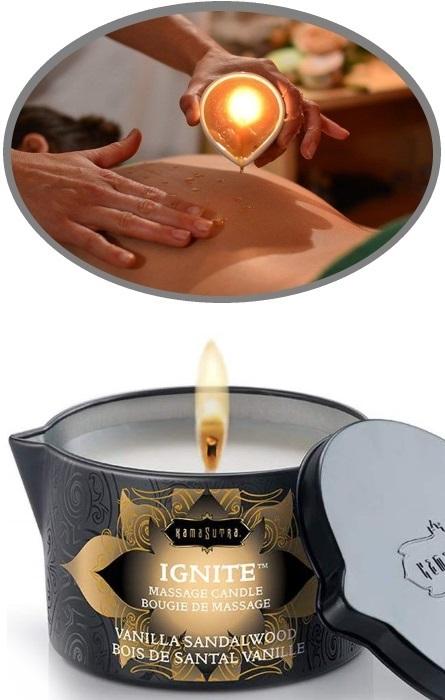 Kama Sutra Vela de Óleo Massagem RF45098