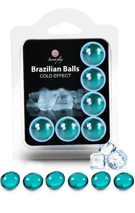 Brazilian Balls Lubrificante 6 Cold Effect RF45438