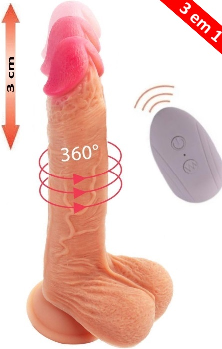 Vibrador Cyber Silicock Mr. Falcon 35 Speeds RF09700