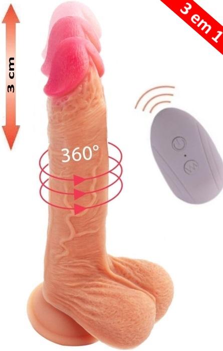 Vibrador Cyber Silicock Mr. Falcon 35 Speeds RF09700