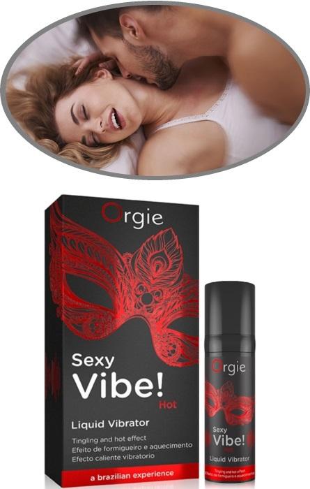Vibrador Liquido Orgie Sexy Vibe! RF45298