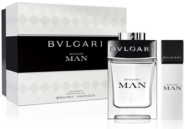 Bvlgari Man EDT Men 100ml + 15 ml Gift Se