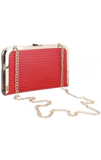 Pleasures Pochette Red