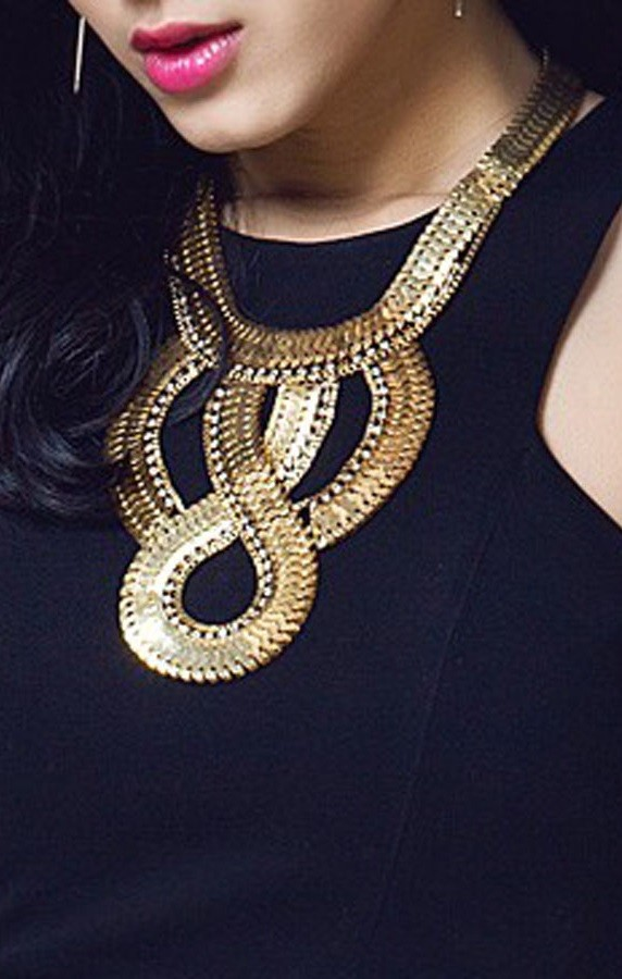 Pleasures Fashion Necklace Gold