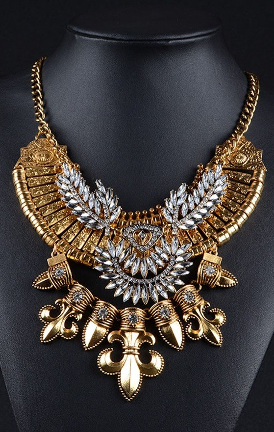 Pleasures Indian Necklace Gold