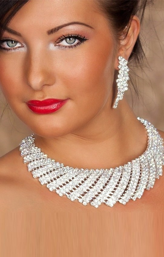 Necklace & Earrings Rf80732