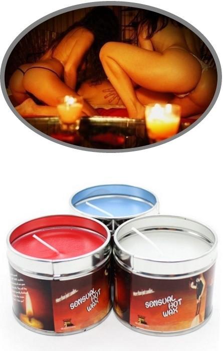 Vela Massagem Sensual Hot Wax Red RF08120