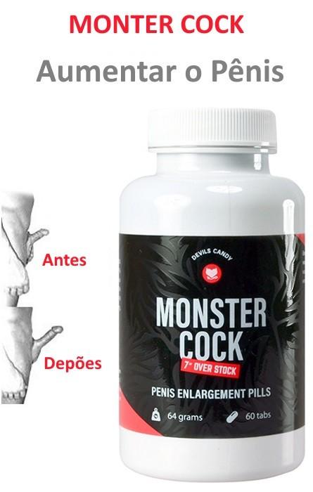 Monster Cock Aumento do Pênis 60 Tabs RF30394