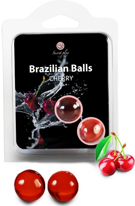 Brazilian Balls Lubrificante 2 Cherry RF45071