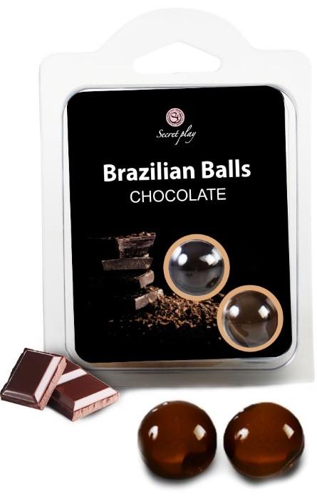 Brazilian Balls Lubrificante 2 Chocolate RF45432