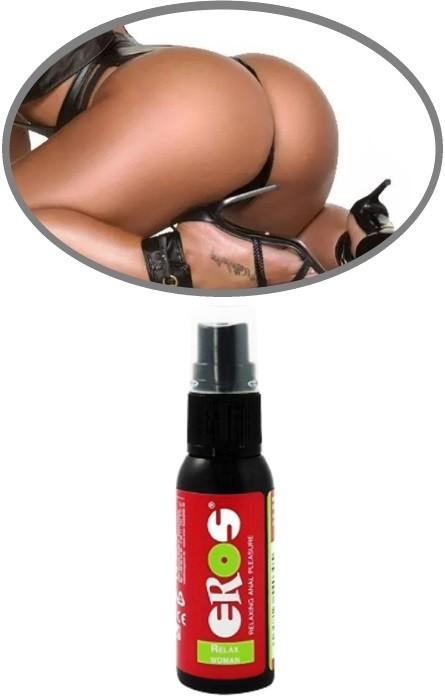 Lubricante Anal Relax Spray Mulher 30ml RF45559