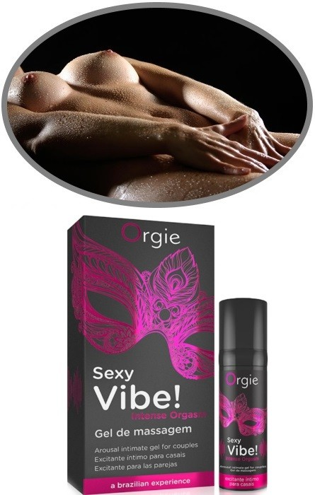 Gel Vibrador Unisexo Orgie Orgasmo Intenso RF45299