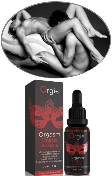 Gel Vibrador Excitante Clitóris Orgie Kissable RF45306