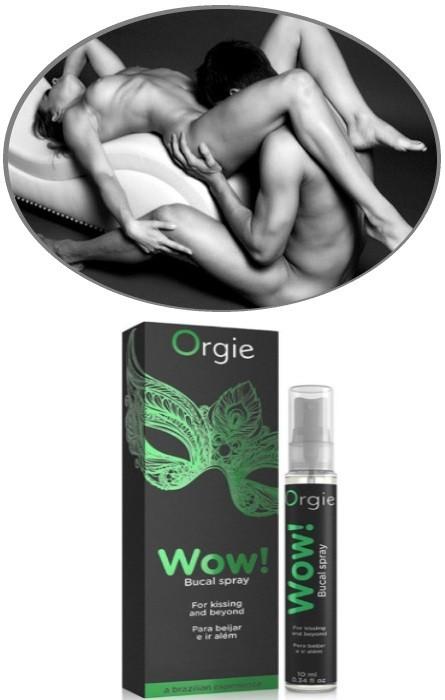 Orgie WOW! Spray Efeito Frio para Sexo Oral RF45303