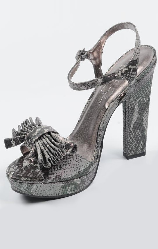 Jessica Simpson Sandals Dark Pewter Rf600138