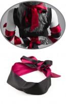 Venda de Cetim Sensual Pink e Black RF02401
