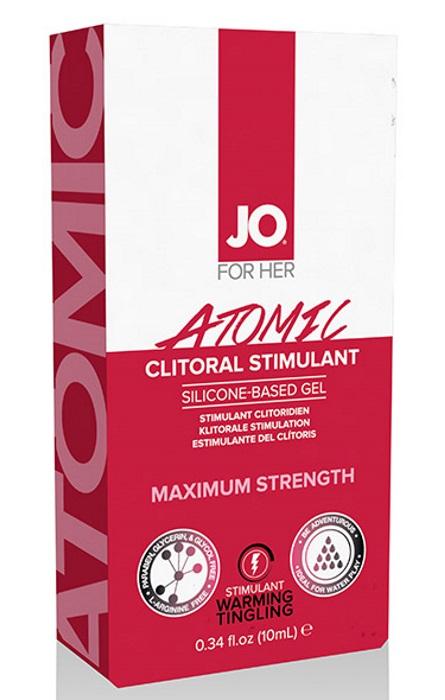 System JO Clitoral Stimulating Warming Atomic 10ml Rf25024